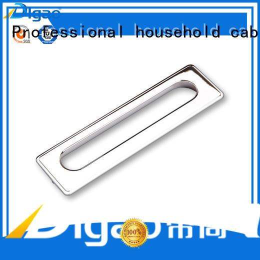 DIgao zinc recessed pull handles for wholesale cabinet hidden handle