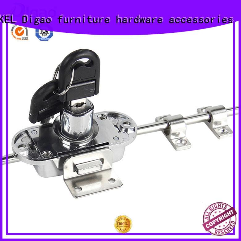 DIgao funky wardrobe door locks OEM for push lock