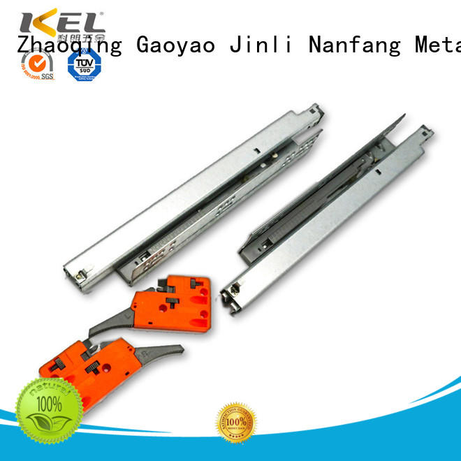 telescopic full rail best soft close drawer slides DIgao manufacture