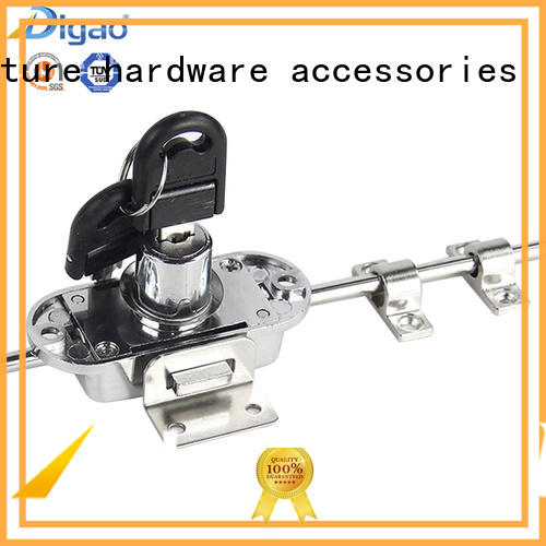 glass cabinet locks and latches free sample for push lock DIgao