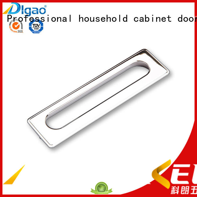 Breathable recessed pull handles handle bulk production