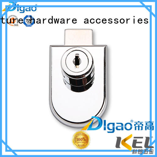 DIgao latest glass display cabinet locks for wholesale kitchen double door lock