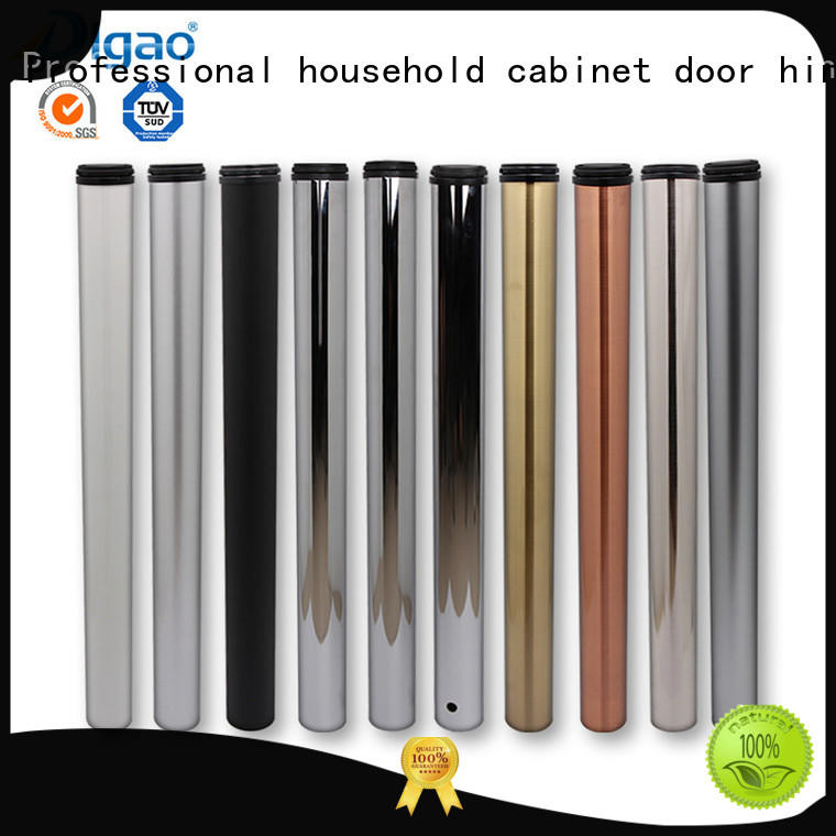 Wholesale Chrome Cabinet Furniture Dining Conference Room Adjustable Height Round Iron Steel Metal Desk Table Leg