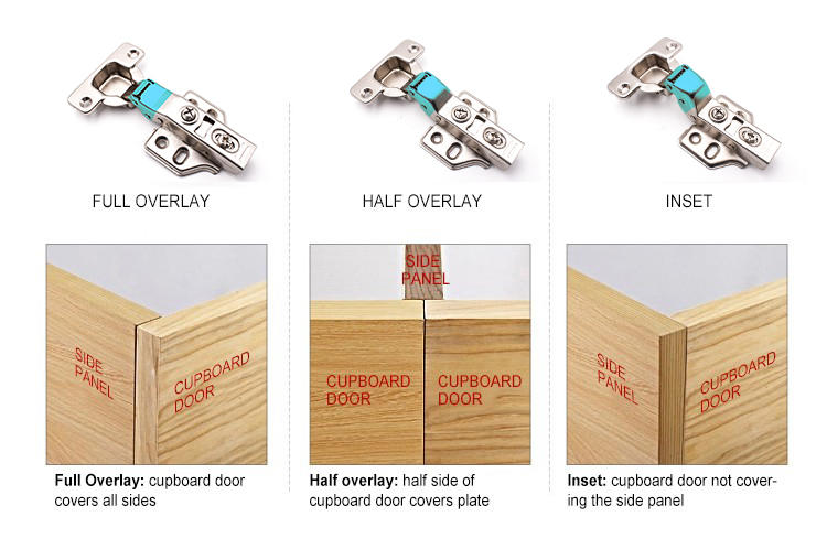 DIgao Breathable hydraulic hinges for cabinets removable-3