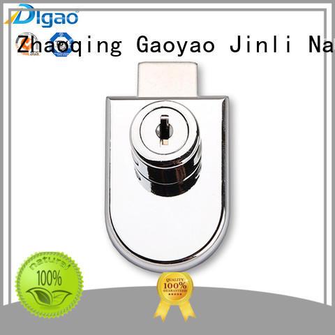 single furniture lock zinc display case lock DIgao Brand