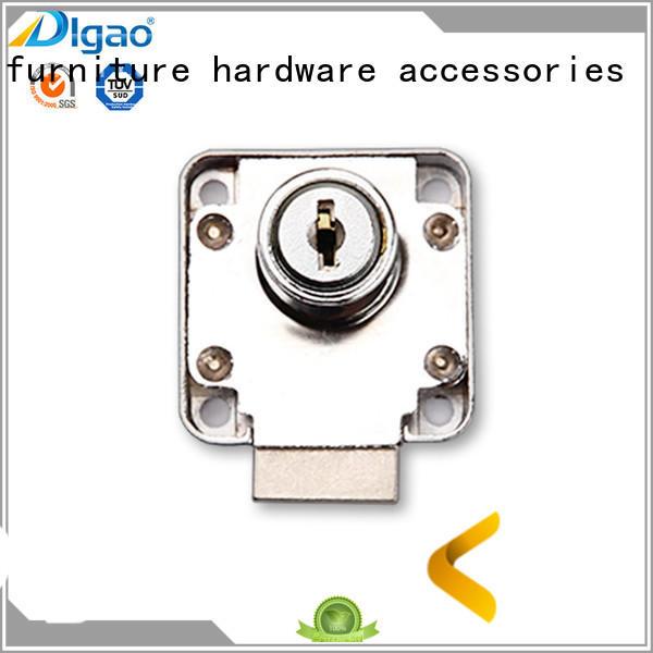 Breathable cabinet drawer locks door customization