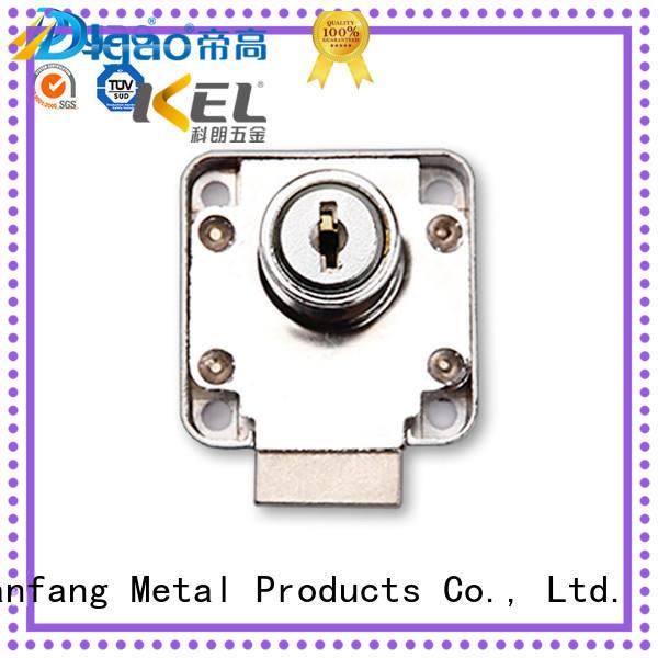 metal Custom unit drawer lock plastic DIgao