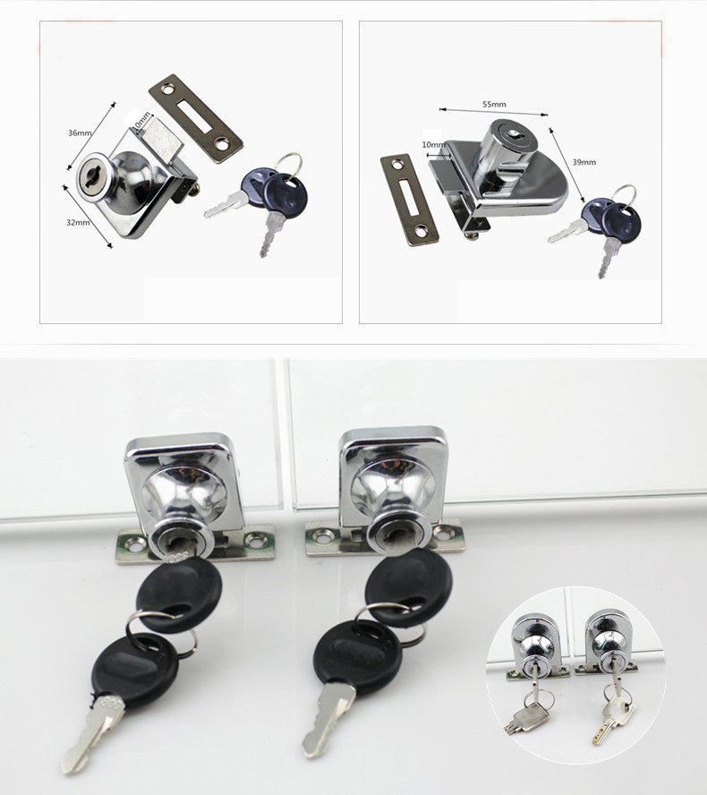 DIgao kitchen showcase lock for wholesale kitchen double door lock-4