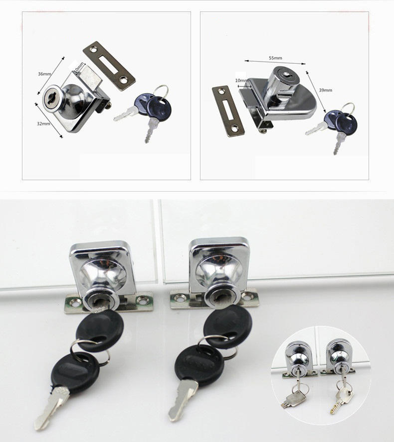 DIgao kitchen showcase lock for wholesale kitchen double door lock