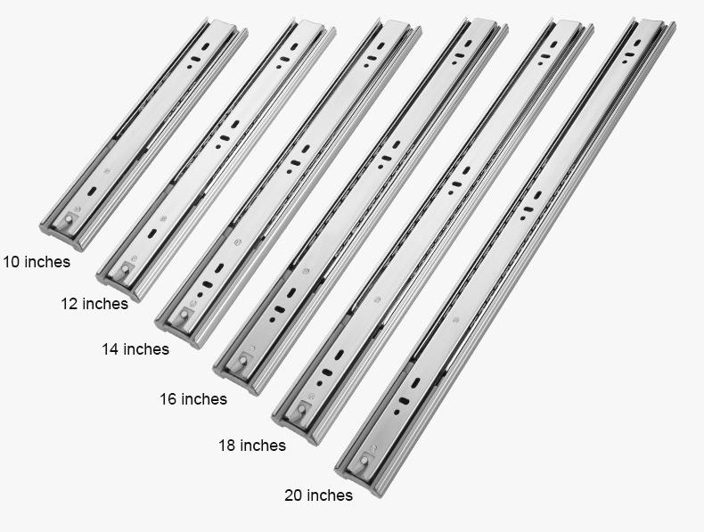 Breathable ball bearing drawer slides soft free sample for furniture