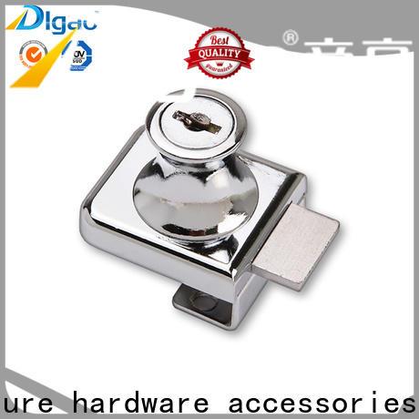 DIgao high-quality display cabinet locks free sample kitchen double door lock