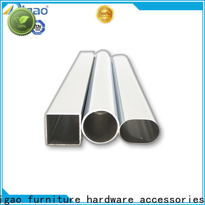 DIgao rounded wardrobe tube free sample Chrome Plated Furniture