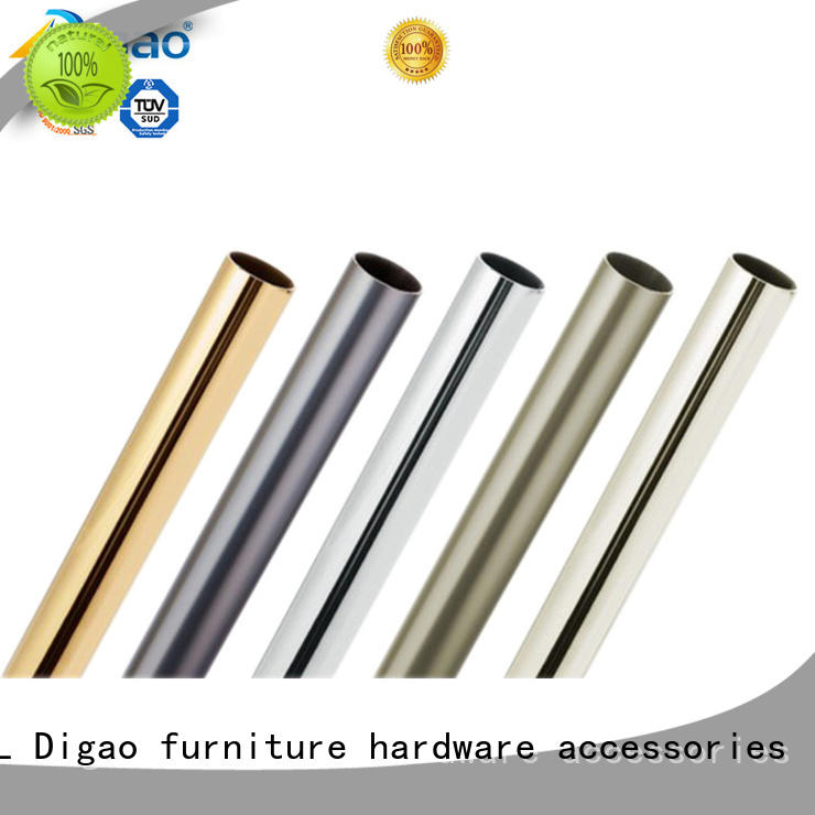 DIgao tube wardrobe rail for wholesale Hanging Clothes