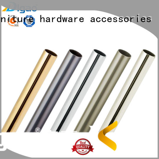 DIgao on-sale adjustable wardrobe rail iron Chrome Plated Furniture