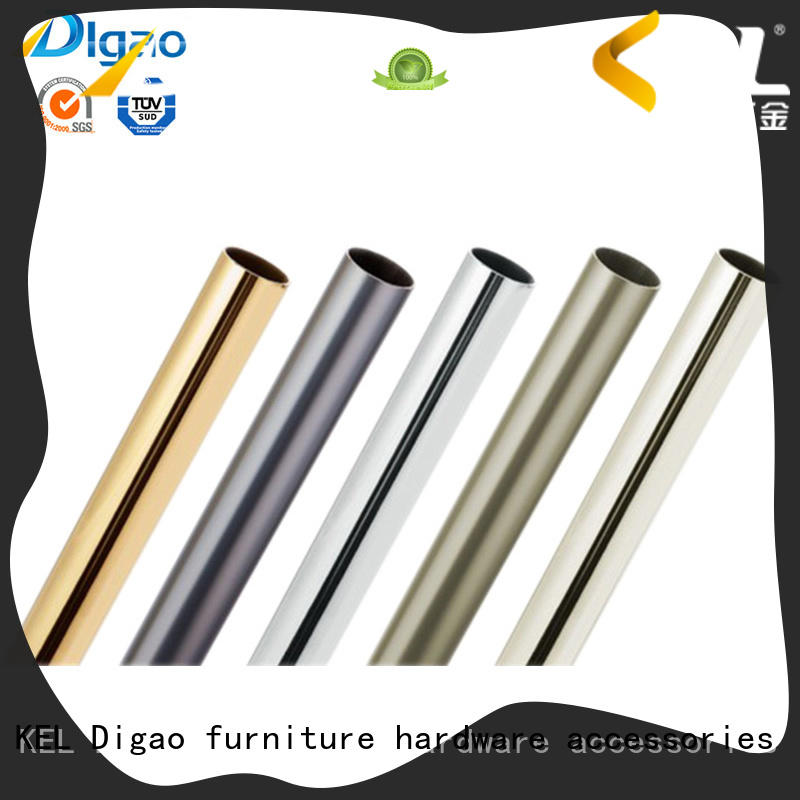 Chrome Plated Furniture Closet Clothes Rail and Wardrobe Hanging Clothes Garment Iron Tube